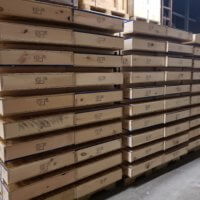 pallets showing heat treated stamp