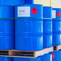 Hazardous Materials barrels