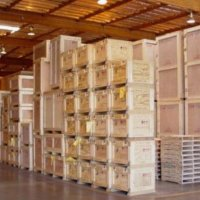 Warehousing crates
